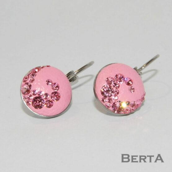 Pink Álom Nemesacél Ékszer Szett Swarovski ® kristályokkal