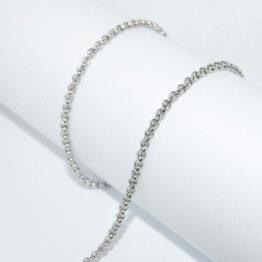 Nemesacél Rolo nyaklánc (2mm) Többféle hosszúságban