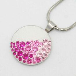 Rose Medál Swarovski ® kristályokkal