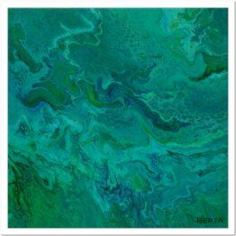Korall Zátonyok Modern akril festmény