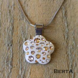 Florance medál Swarovski kristályokkal