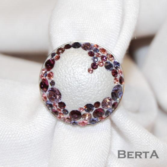 Loren II. Swarovski kristályos gyűrű