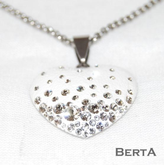Eleonor medál és fülbevaló Swarovski ® kristályokkal