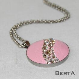 Nirvana Nemesacél Medál és Gyűrű Swarovski ® kristályokkal