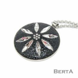 Edelweis Medál Swarovski ® kristályokkal
