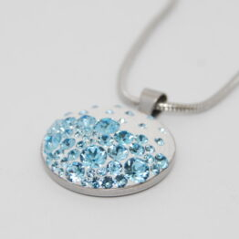 Blue-lu Medál Swarovski ® kristályokkal
