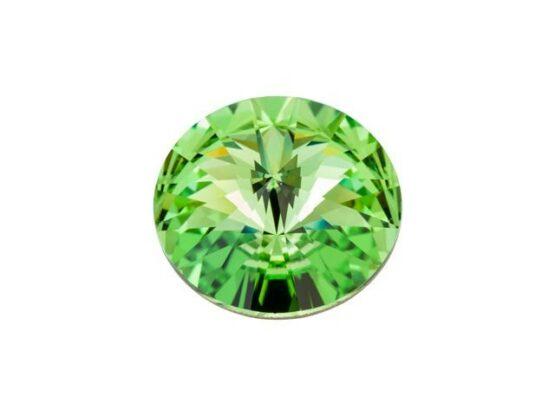 Nemesacél Rivoli Foglalatos Gyűrű Swarovski ® Kristállyal (12mm)